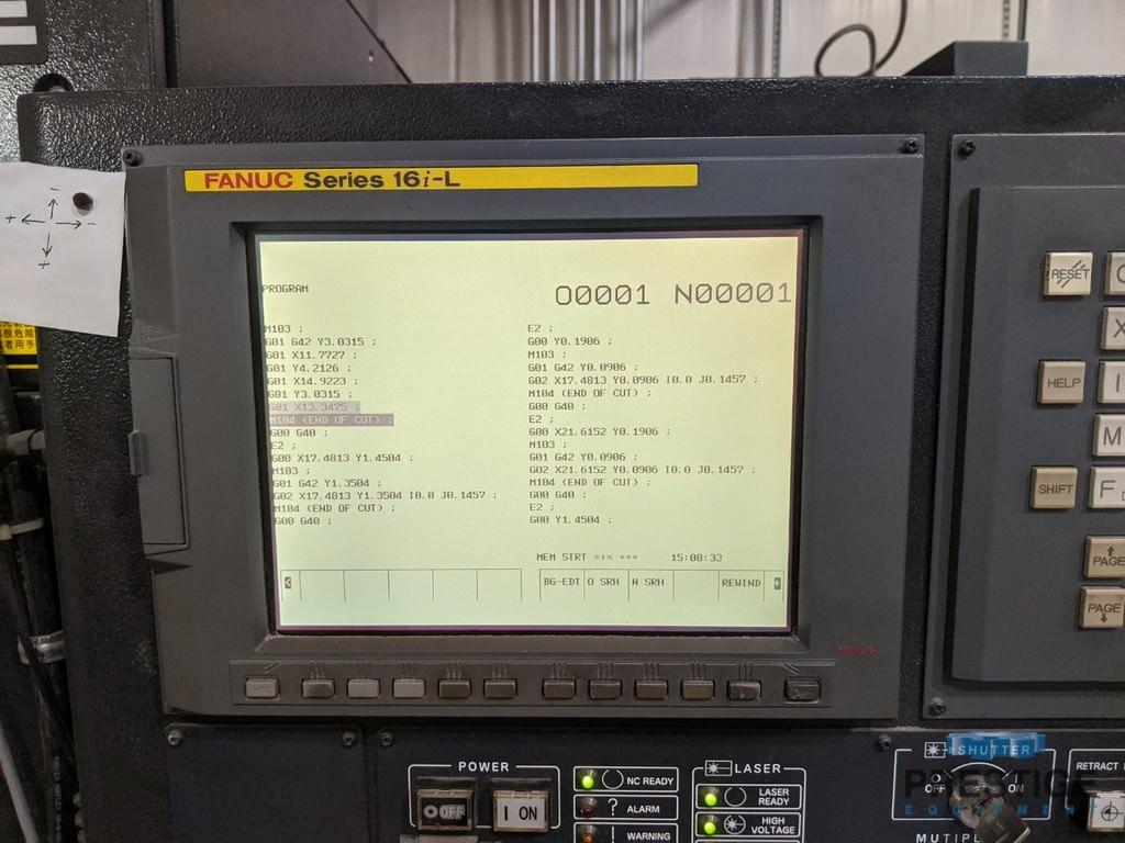 Amada Quattro 2 KW CO2 Laser-31019c