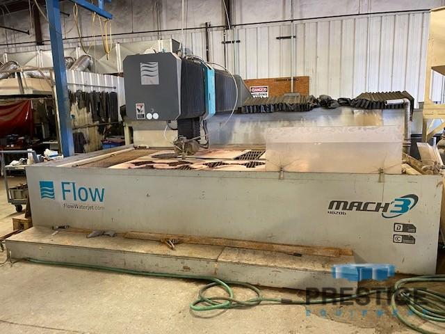 Flow Mach 3 4020B Hyperjet 100 Abrasive Water Jet