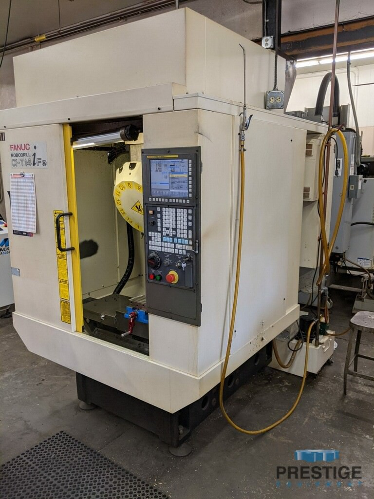 FANUC Robodrill Alpha T14iFe 4-Axis CNC Drilling and Tapping Center-31111a