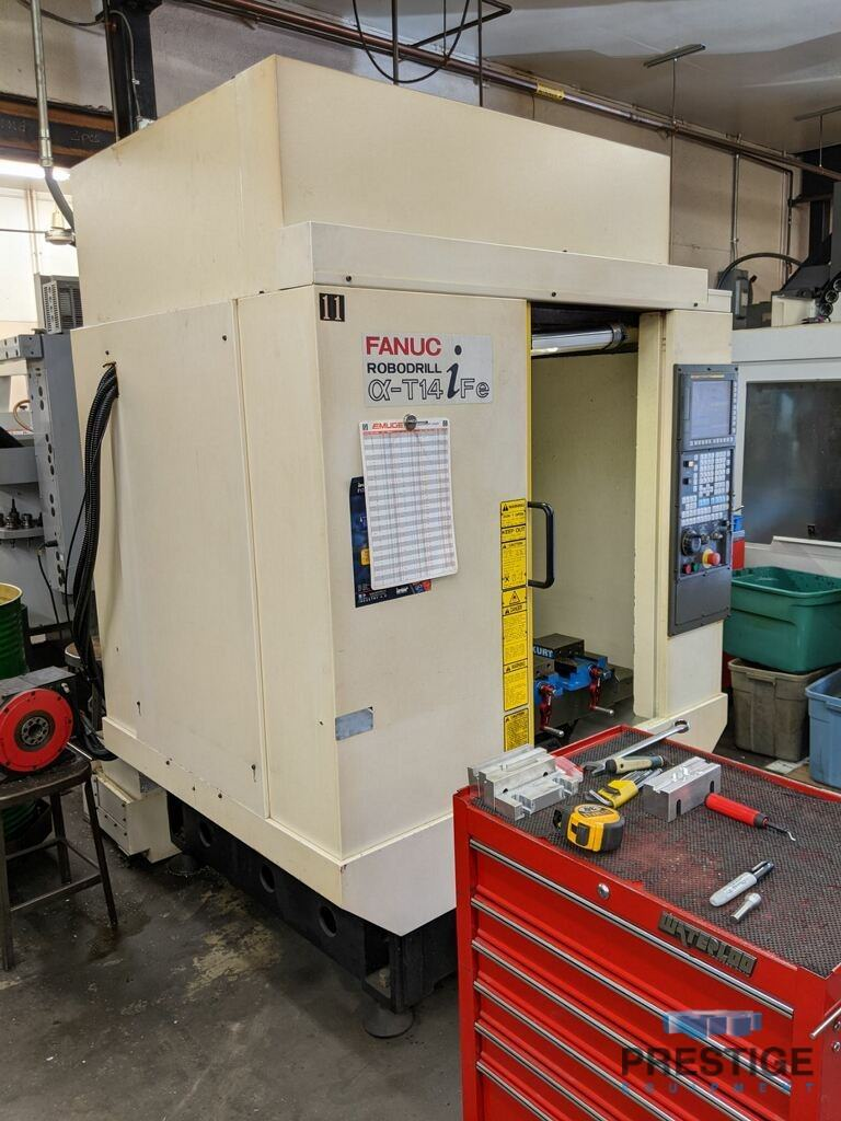 FANUC Robodrill Alpha T14iFe 4-Axis CNC Drilling and Tapping Center-31111b