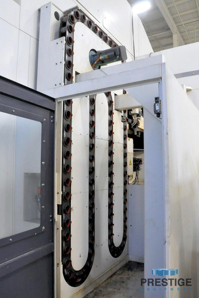 GIDDINGS & LEWIS HMC-1250 4-Axis CNC Horizontal Machining Center-31160f