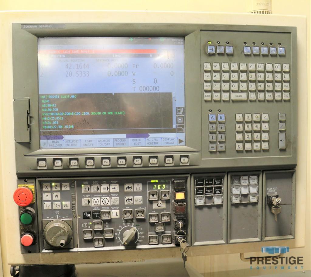 Okuma V100R Vertical Lathe-31176d