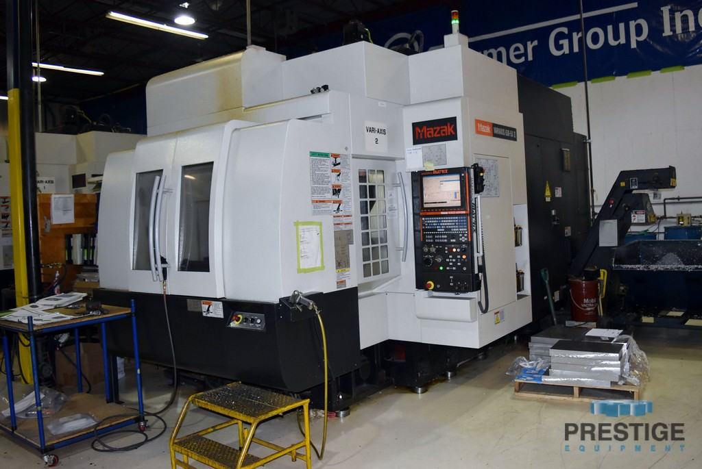 MAZAK Variaxis 630-5X/2 CNC Vertical Machining Center