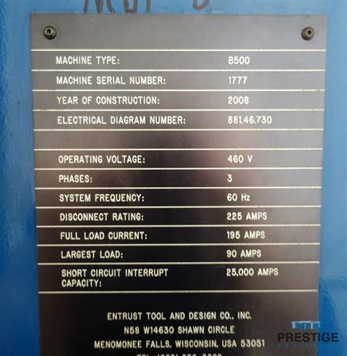 Unisig B500 BTA Deep Hole Drill-31245l