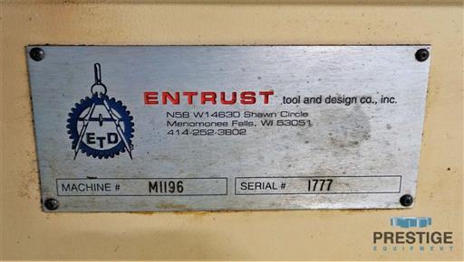 Unisig B500 BTA Deep Hole Drill-31245m