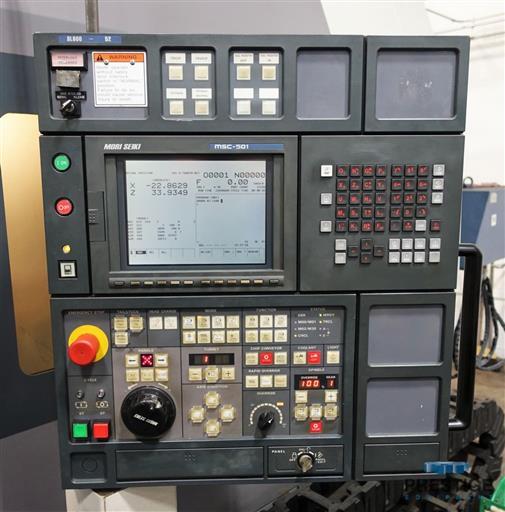 Mori Seiki SL-600C/2000 CNC Turning Center -31263a