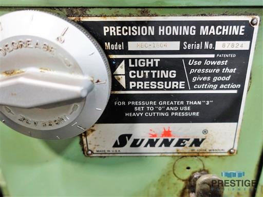 Sunnen MBC-1804 Vertical Honing Machine -31307a