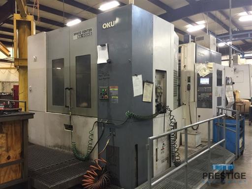 OKUMA MA-600HB CNC Horizontal Machining Center