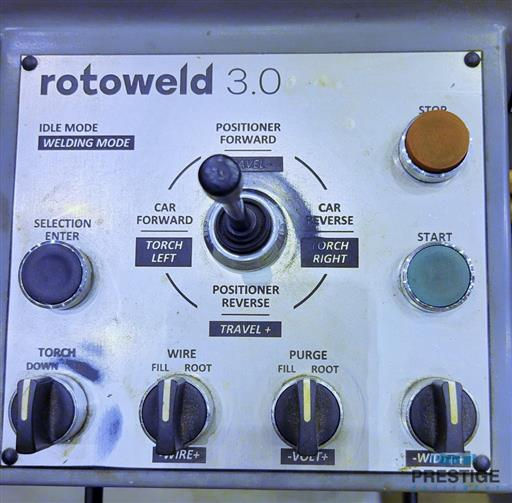 Rotoweld 3.0 Twin Bay 1067 MM  Automated Pipe Spool Welding System-31316g