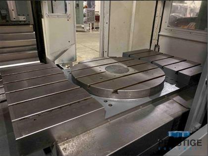 HAAS EC 1600 CNC HMC w/ Center B-AXIS Rotary Table   -31328c