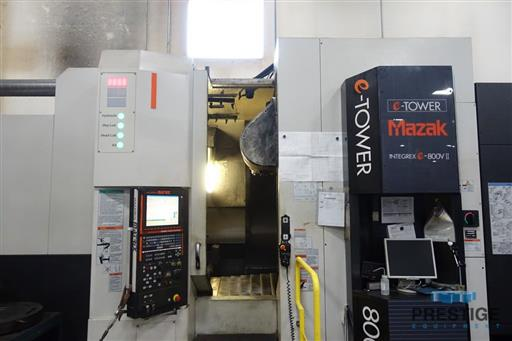 Mazak Integrex e-800V5-II 5-Axis CNC Multi-Tasking Machining & Turning Center-31360a