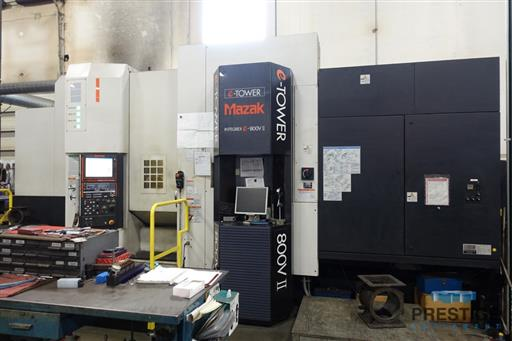 Mazak Integrex e-800V5-II 5-Axis CNC Multi-Tasking Machining & Turning Center-31360b