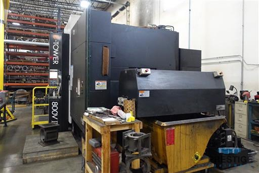 Mazak Integrex e-800V5-II 5-Axis CNC Multi-Tasking Machining & Turning Center-31360t