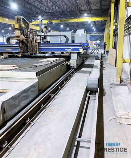 Messer TMC4512  Plate Cutting System, (2) Gantry's On Shared Slagger Table-31365a