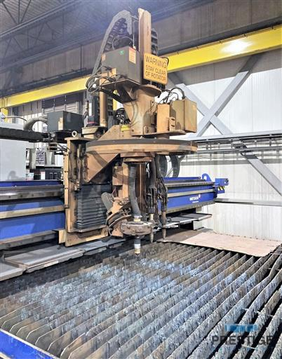 Messer TMC4512  Plate Cutting System, (2) Gantry's On Shared Slagger Table-31365d
