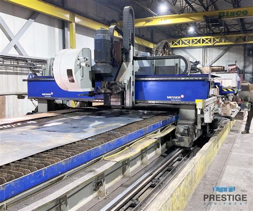 Messer TMC4512  Plate Cutting System, (2) Gantry's On Shared Slagger Table-31365e