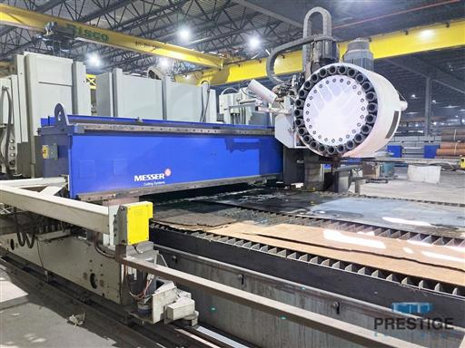 Messer TMC4512  Plate Cutting System, (2) Gantry's On Shared Slagger Table-31365f