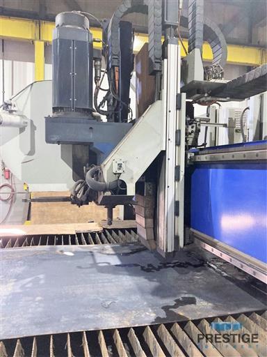 Messer TMC4512  Plate Cutting System, (2) Gantry's On Shared Slagger Table-31365j