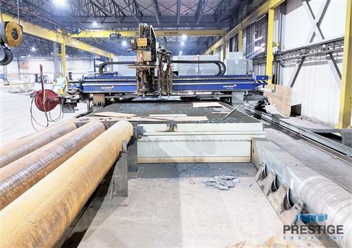 Messer TMC4512  Plate Cutting System, (2) Gantry's On Shared Slagger Table-31365k