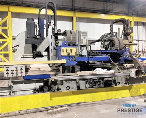 Messer TMC4512  Plate Cutting System, (2) Gantry's On Shared Slagger Table-31365l