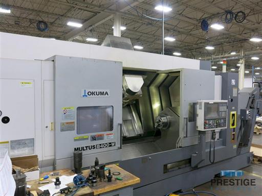 Okuma Multus B-400-W 1500 Mill Turn CNC Lathe-31369a