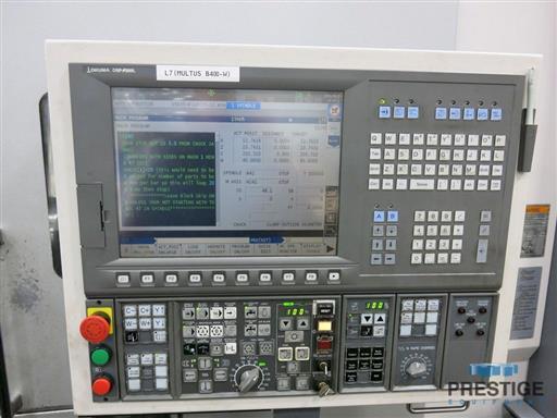 Okuma Multus B-400-W 1500 Mill Turn CNC Lathe-31369b
