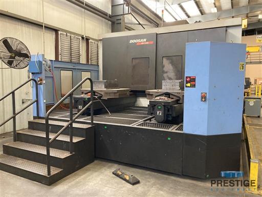 DOOSAN HM-1250 CNC Horizontal Machining Center