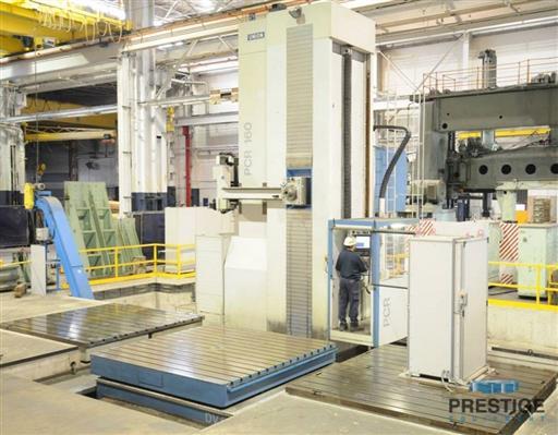 Union PCR160 CNC Floor Type Horizontal Boring Mill