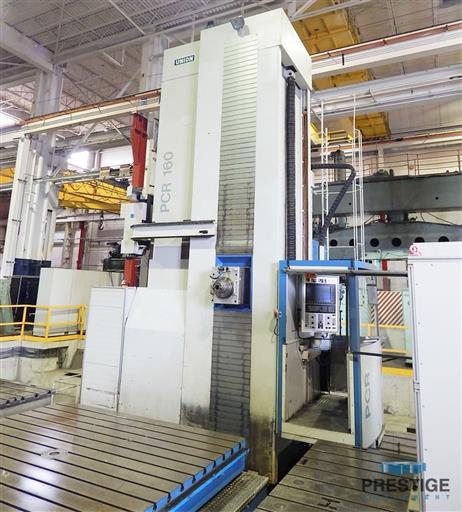 Union PCR160 CNC Floor Type Horizontal Boring Mill-31393k
