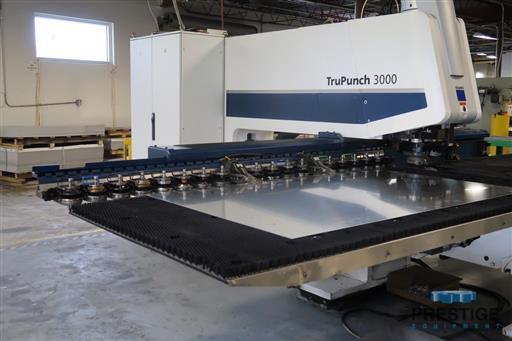 TRUMPF TruPunch 3000 22 Ton CNC Servo Electric Punching System-31394c