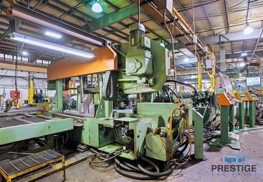 Peddinghaus PCD1100 Beam Drill & Meba 1140/510 Saw Line With Conveyor & Transfers-31409c