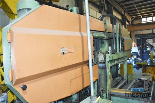 Peddinghaus PCD1100 Beam Drill & Meba 1140/510 Saw Line With Conveyor & Transfers-31409e