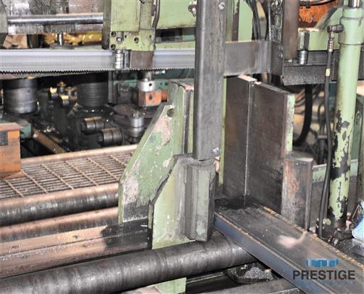 Peddinghaus PCD1100 Beam Drill & Meba 1140/510 Saw Line With Conveyor & Transfers-31409f