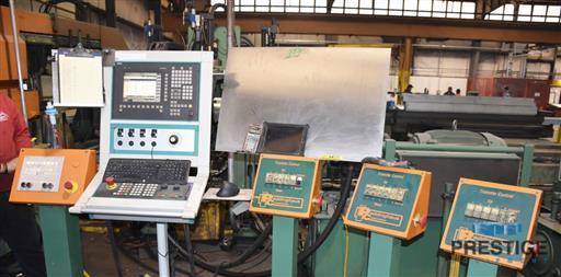 Peddinghaus PCD1100 Beam Drill & Meba 1140/510 Saw Line With Conveyor & Transfers-31409h