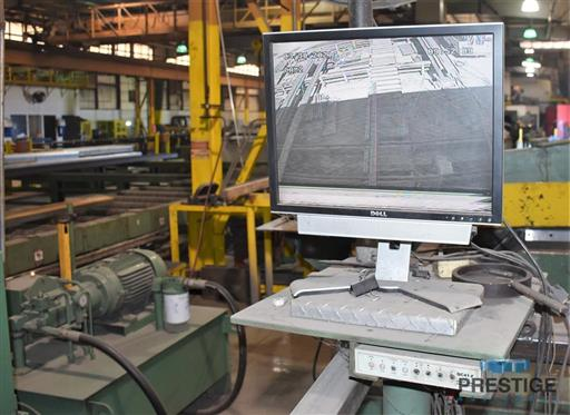 Peddinghaus PCD1100 Beam Drill & Meba 1140/510 Saw Line With Conveyor & Transfers-31409l