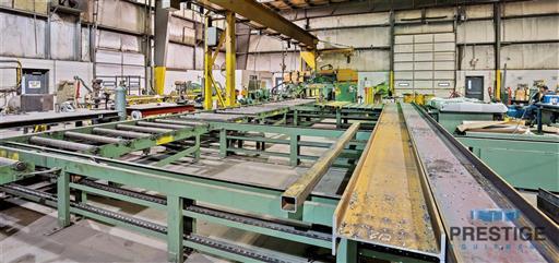 Peddinghaus PCD1100 Beam Drill & Meba 1140/510 Saw Line With Conveyor & Transfers-31409n