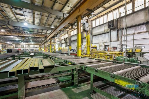 Peddinghaus PCD1100 Beam Drill & Meba 1140/510 Saw Line With Conveyor & Transfers-31409o