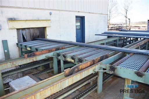 Peddinghaus PCD1100 Beam Drill & Meba 1140/510 Saw Line With Conveyor & Transfers-31409s