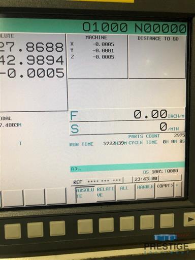 Vision Wide VTEC NF4116 CNC Double Column Vertical Machining Center-31423c
