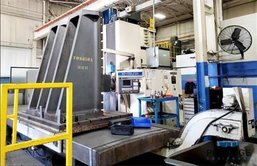Toshiba P-110.P20 CNC Table Type Boring Mill