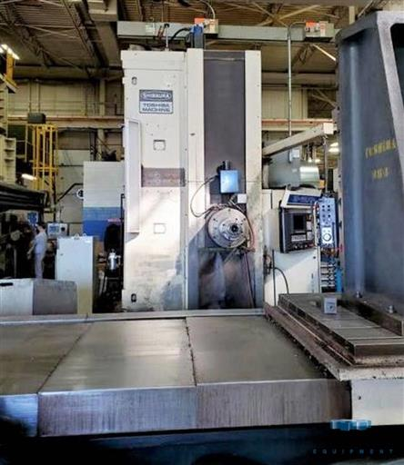Toshiba P-110.P20 CNC Table Type Boring Mill -31424a