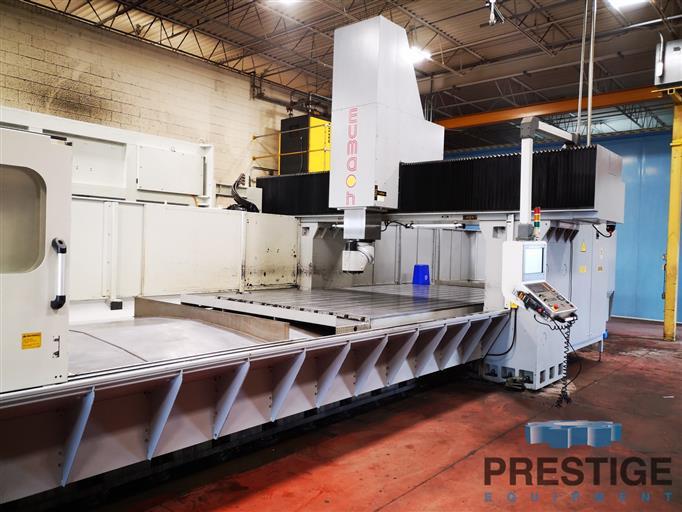 Eumach-DVM-5030-5-Face-CNC-Bridge-Mill