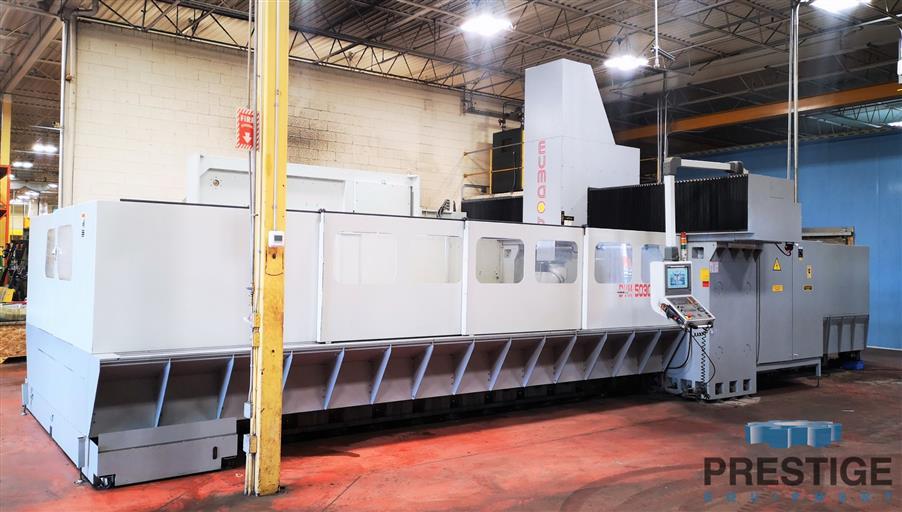 Eumach DVM-5030 5-Face CNC Bridge Mill -31447a