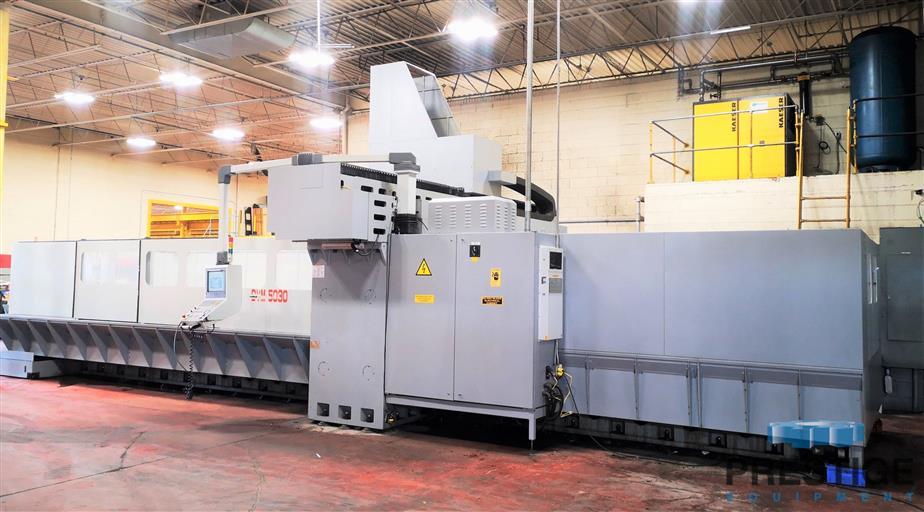 Eumach DVM-5030 5-Face CNC Bridge Mill -31447b