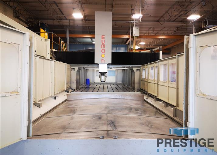 Eumach DVM-5030 5-Face CNC Bridge Mill -31447c