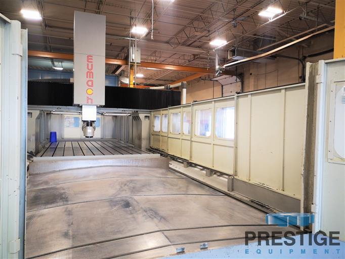 Eumach DVM-5030 5-Face CNC Bridge Mill -31447d