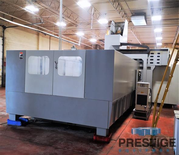 Eumach DVM-5030 5-Face CNC Bridge Mill -31447l