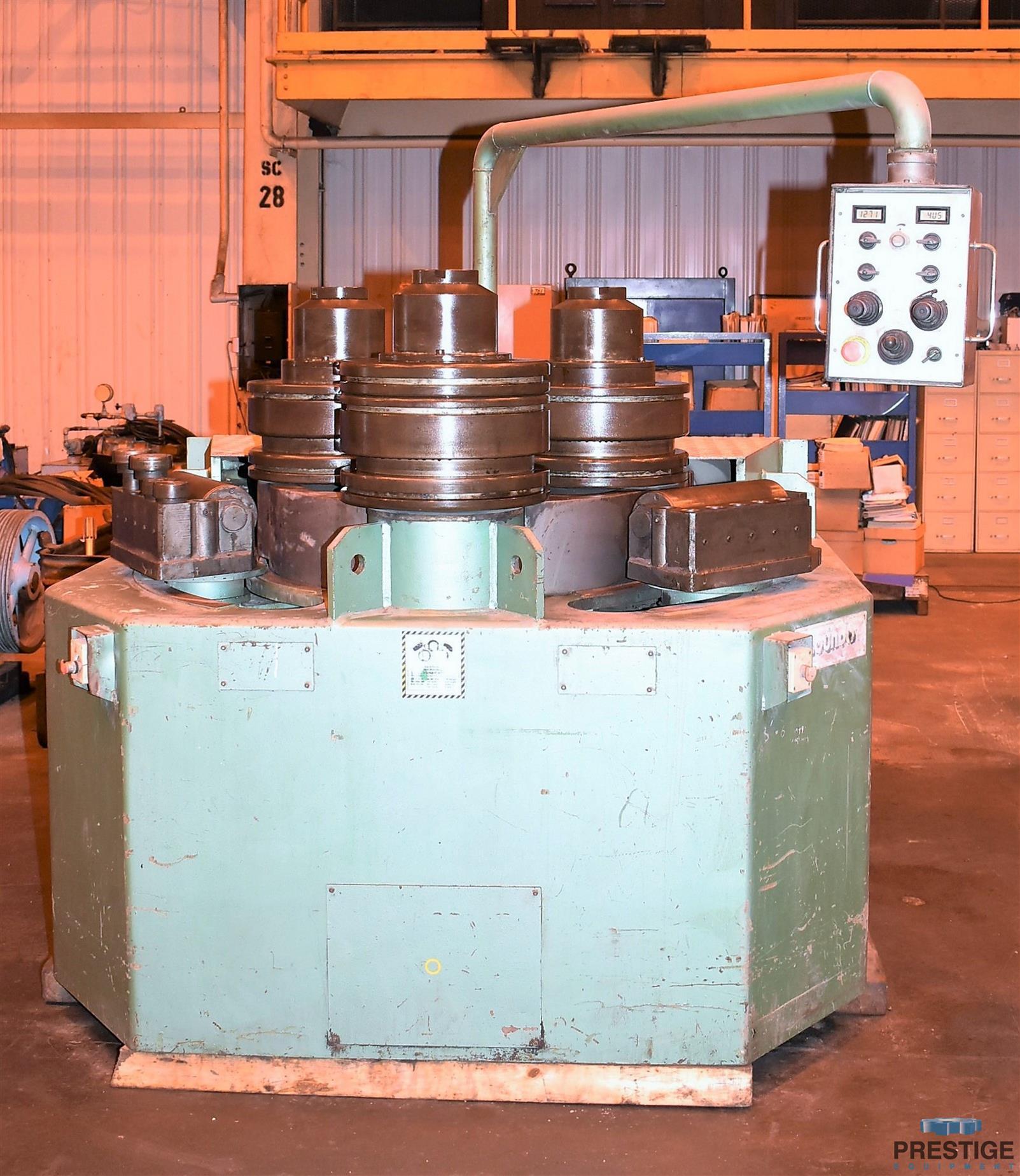 Roundo R6S 152 MM  x 152 MM  x 16 MM  Horizontal Angle Bending Roll-31504a