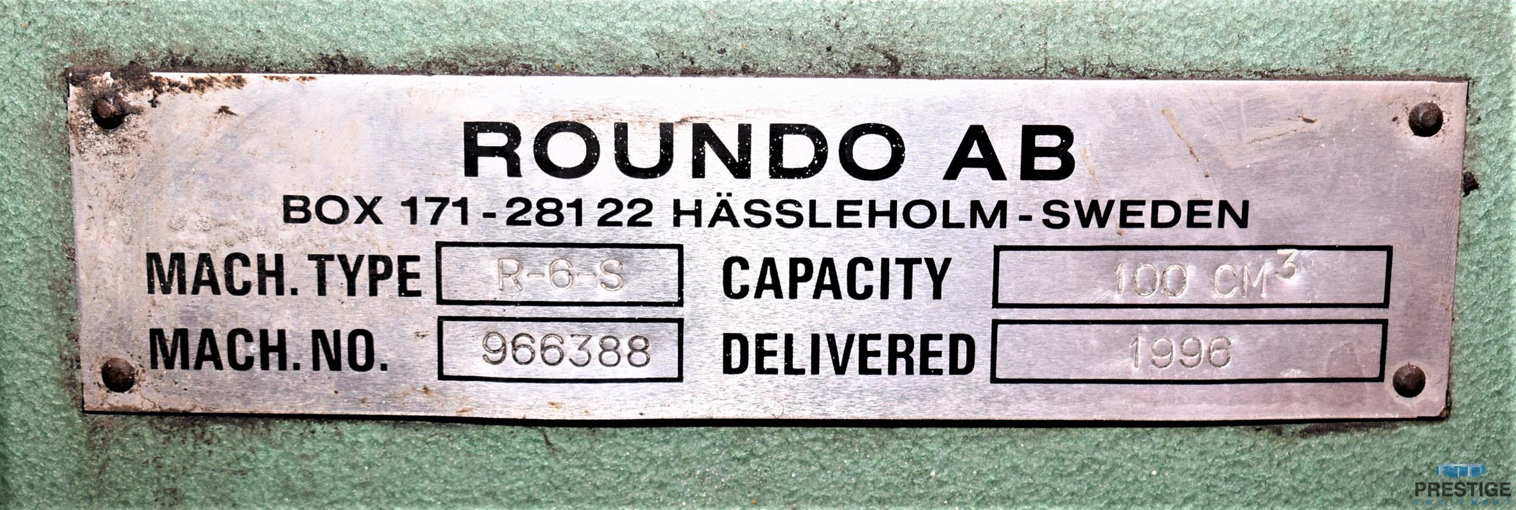 Roundo R6S 152 MM  x 152 MM  x 16 MM  Horizontal Angle Bending Roll-31504g