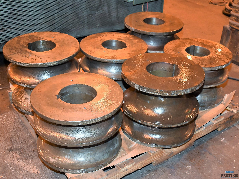 Roundo R6S 152 MM  x 152 MM  x 16 MM  Horizontal Angle Bending Roll-31504h
